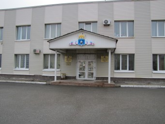 Здание администрации Соликамского района (фас)
