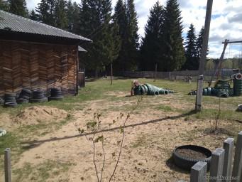 Территория у Верхнемошевского Сельского Дома Культуры