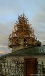 Реставрация Преображенской церкви