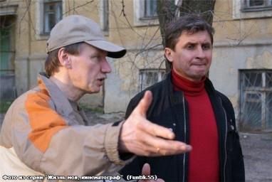 """Съёмочная площадка к/к """"Однажды в Ростове"""" 2010 г."""