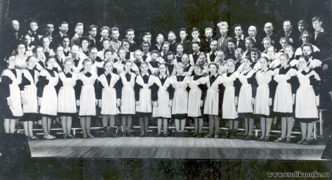 Школьный хор. Школа №3 Соликамск.