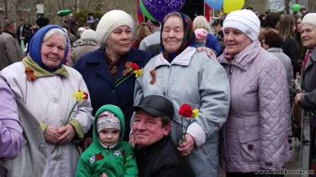 Парад 9 мая в Боровске10362