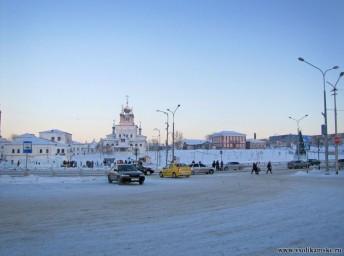 Центр города 2 января