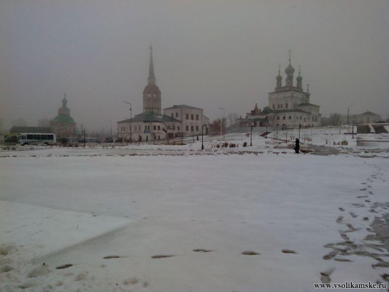 Центр города в тумане12974