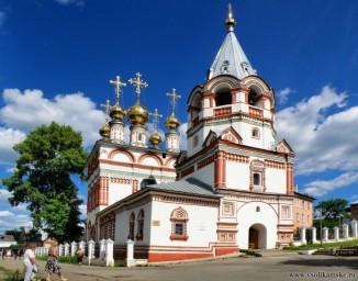 Богоявленская церковь в день 580-летия городу Соликамску