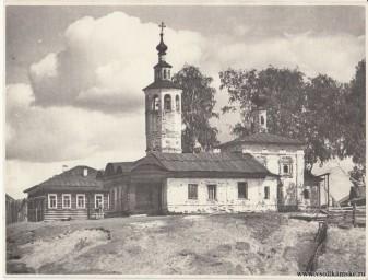 Воздвиженская ц. Верх-Боровой 1954 год лето.jpg