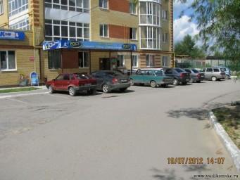 Самозахват территории под паркинг11396