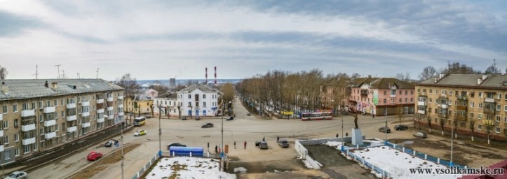 г.Соликамск  площадь Ленина
