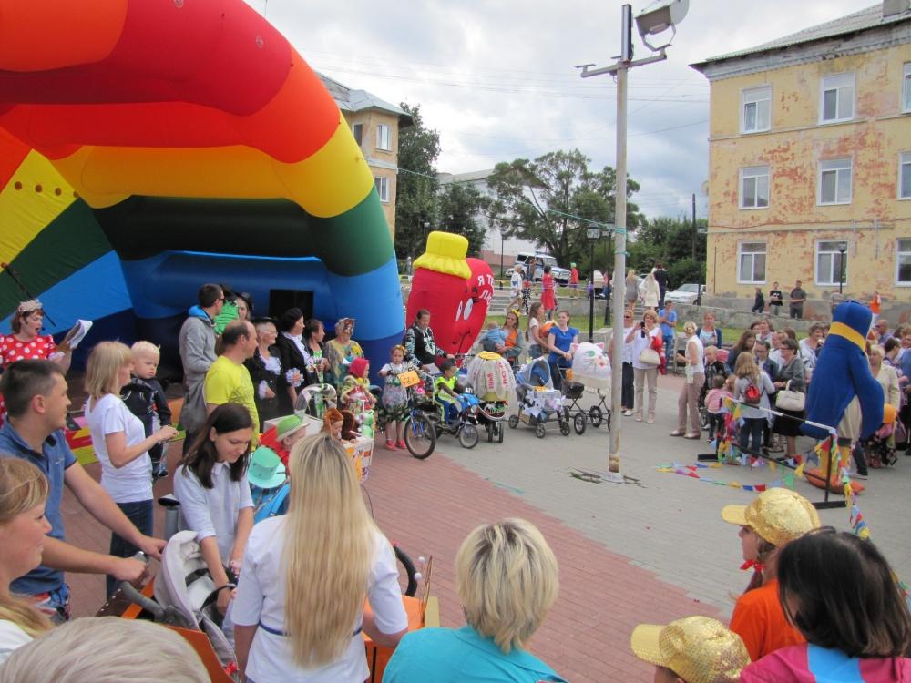 Парад детского транспорта