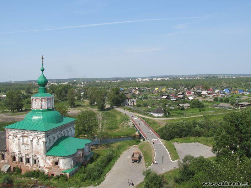 Крестовоздвиженский собор и мост влюблённых