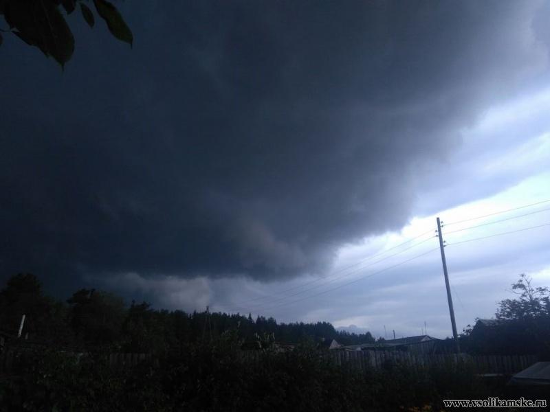 Фото тучи 1 августа