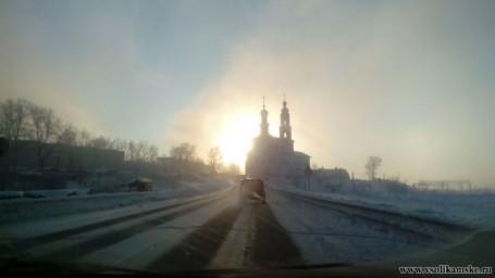 Туман 8 января 2