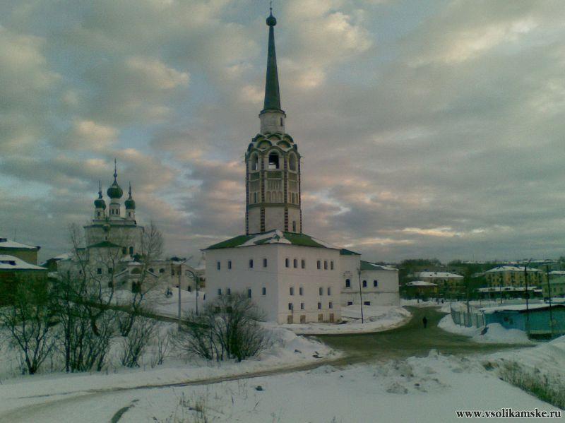 Центр зимой