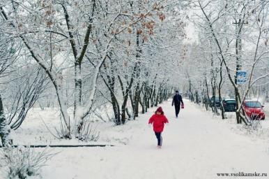 Снова падает снег... ноябрь...