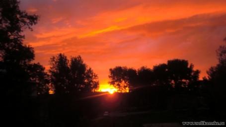 Восход солнца 24.05.2015 4 часа 52 минуты13604
