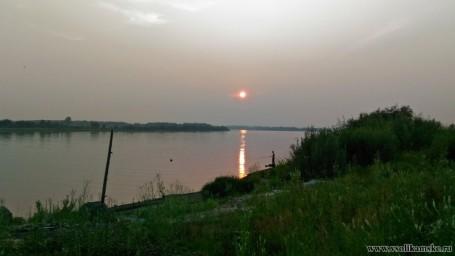 Закат над Камой