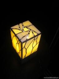 Светильник витражный (ручная работа) авторский эскиз 1 экземпляр