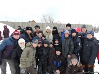 Открытие детской спортплощадки на Шахтёрском, 24.02.2013