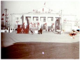 0071  Боровск.  На площади у ДК им. Ленина