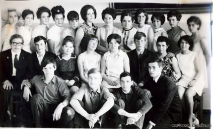 1970 год выпускникники АХ-46