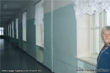 Школные коридоры в наши дни (Декабрь 2011 г.)