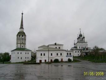 Центр Соликамска, май 2008 года
