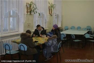 Школьный буфет в день выборов (Декабрь 2011 г.)