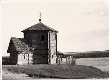 Село Пянтег Богоявленская ц. 15-16 век лето 1951 год.jpg