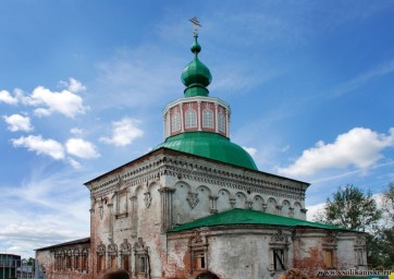 Крестовоздвиженский зимний храм
