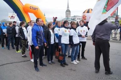 эстафета 7.05.16г Соликамск завод Урал