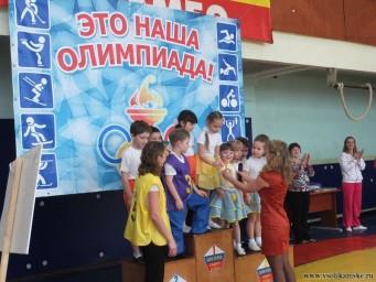 Детская Олимпиада в Боровске13213