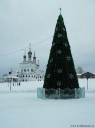 Центральная елка Соликамска