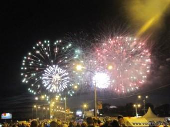 Фейерверк День города Соликамск 2015