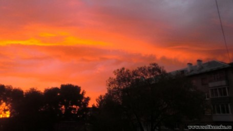 Восход солнца 24.05.2015 4 часа 52 минуты13601