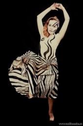 ...фантазийную зебру