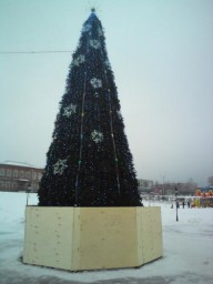 Новогодняя елка. 2010-2011