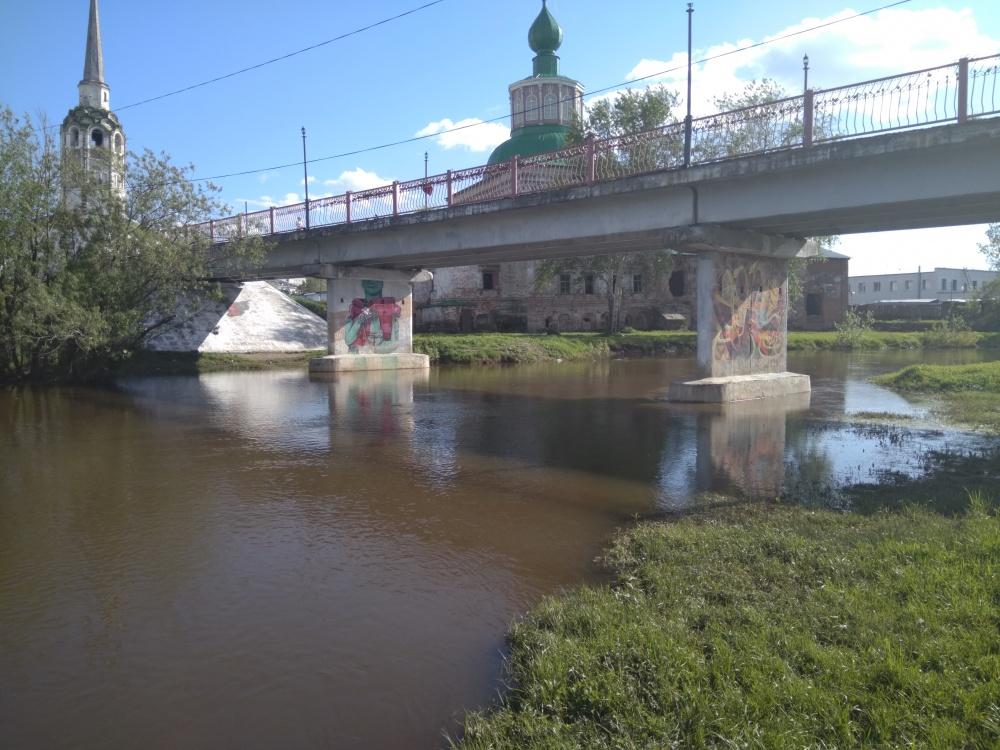 На Усолке под мостом