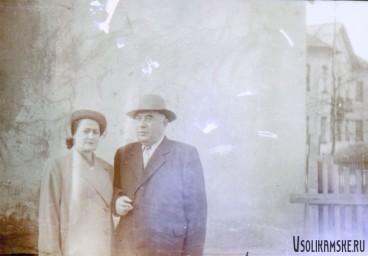 Директор СЦБК  вместе с женой. 1962 год