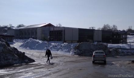Здание нового ТРЦ на месте бывшего ДК