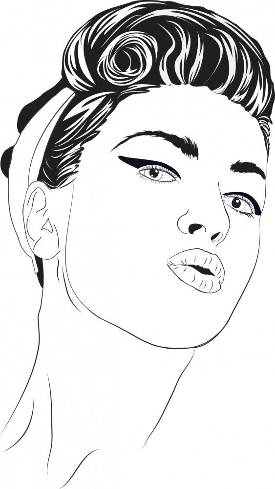 Поп-арт рисунок