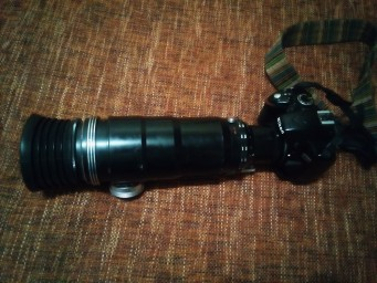 фоторужье + Nikon