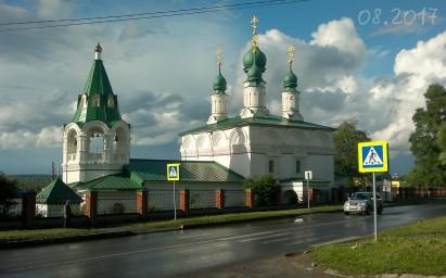 2017г. Преображенская церковь.