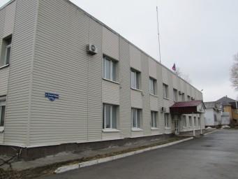 Здание администрации Соликамского района (профиль)