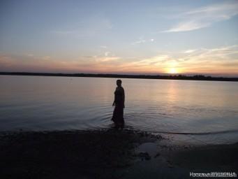 Гуляю по воде)))