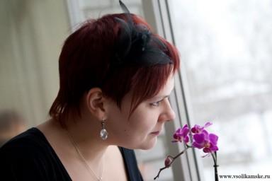 Это моя орхидея