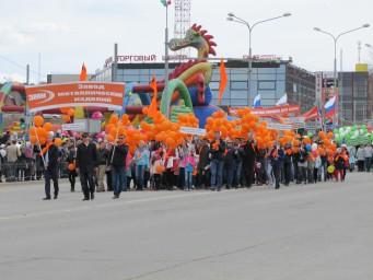 ЗМИ на Первомайском шествии