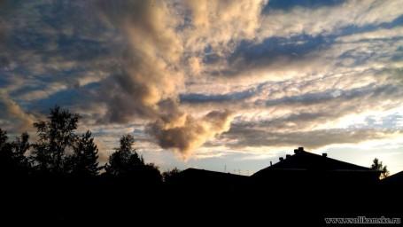Облако-воронка над д/с №48