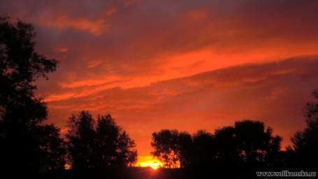 Восход солнца 24.05.2015 4 часа 52 минуты13603