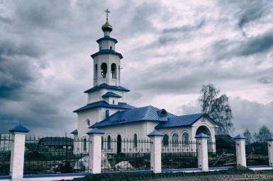 церковь в боровой