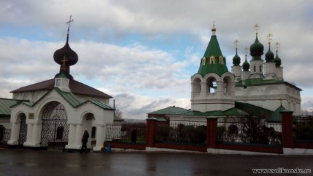 Новые купола Спасо-Преображенской церкви